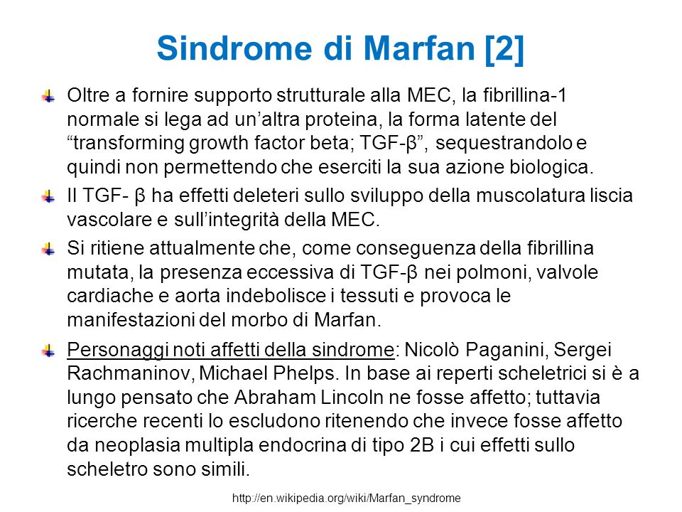 Sindrome di Marfan [2]